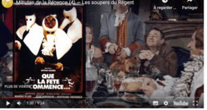 minutes Régence