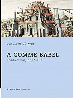 Couverture A comme Babel