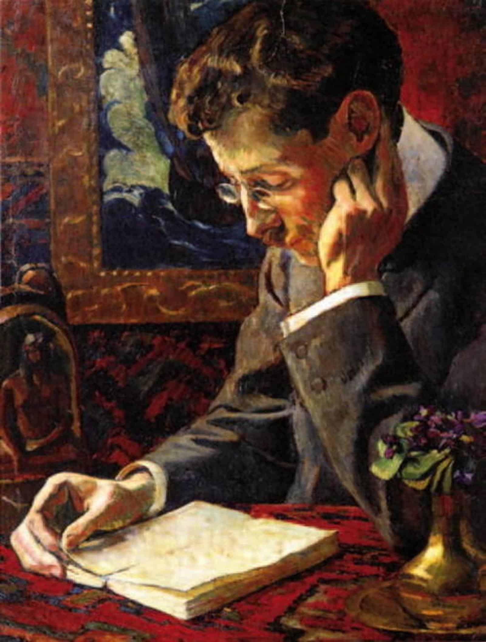 Portrait de Victor Segalen par George Daniel de Monfreid