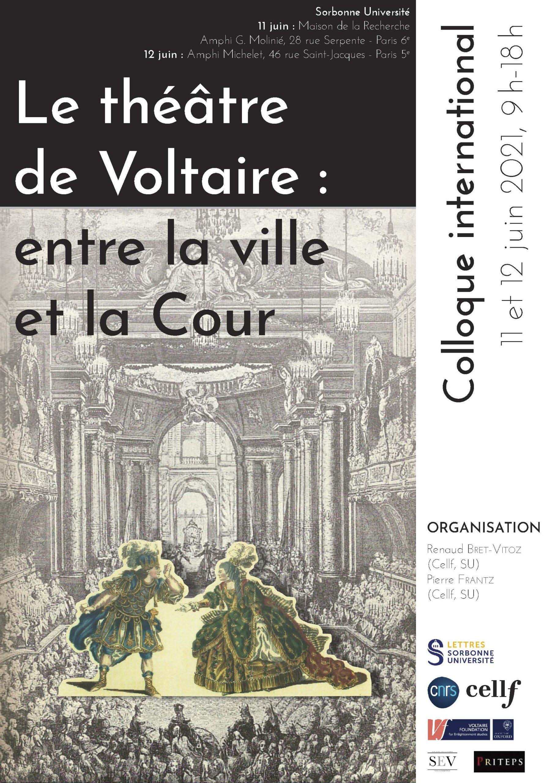 Affiche colloque Voltaire