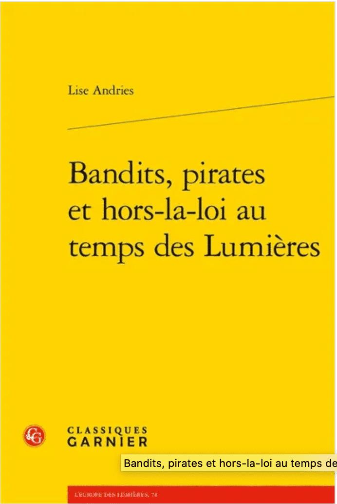 Bandits, pirates et hors-la-loi