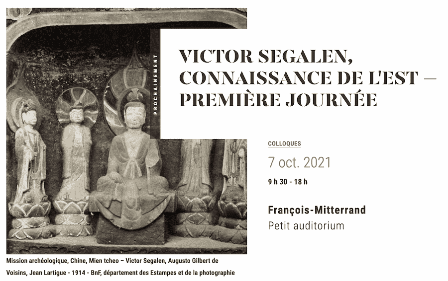 Colloque Victor Segalen